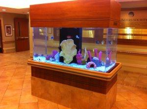 hospital aquarium