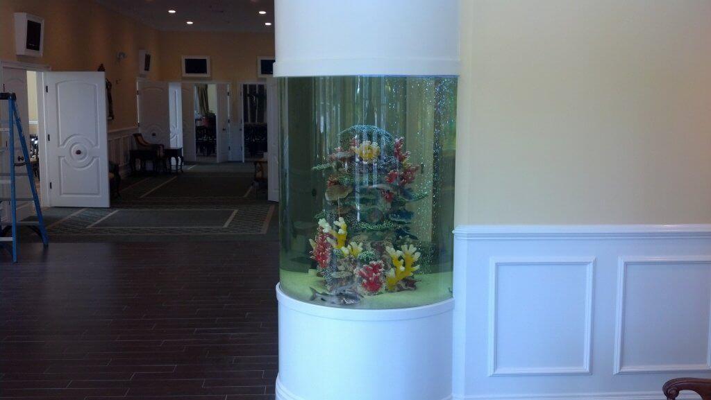 220g Cylinder Aquarium