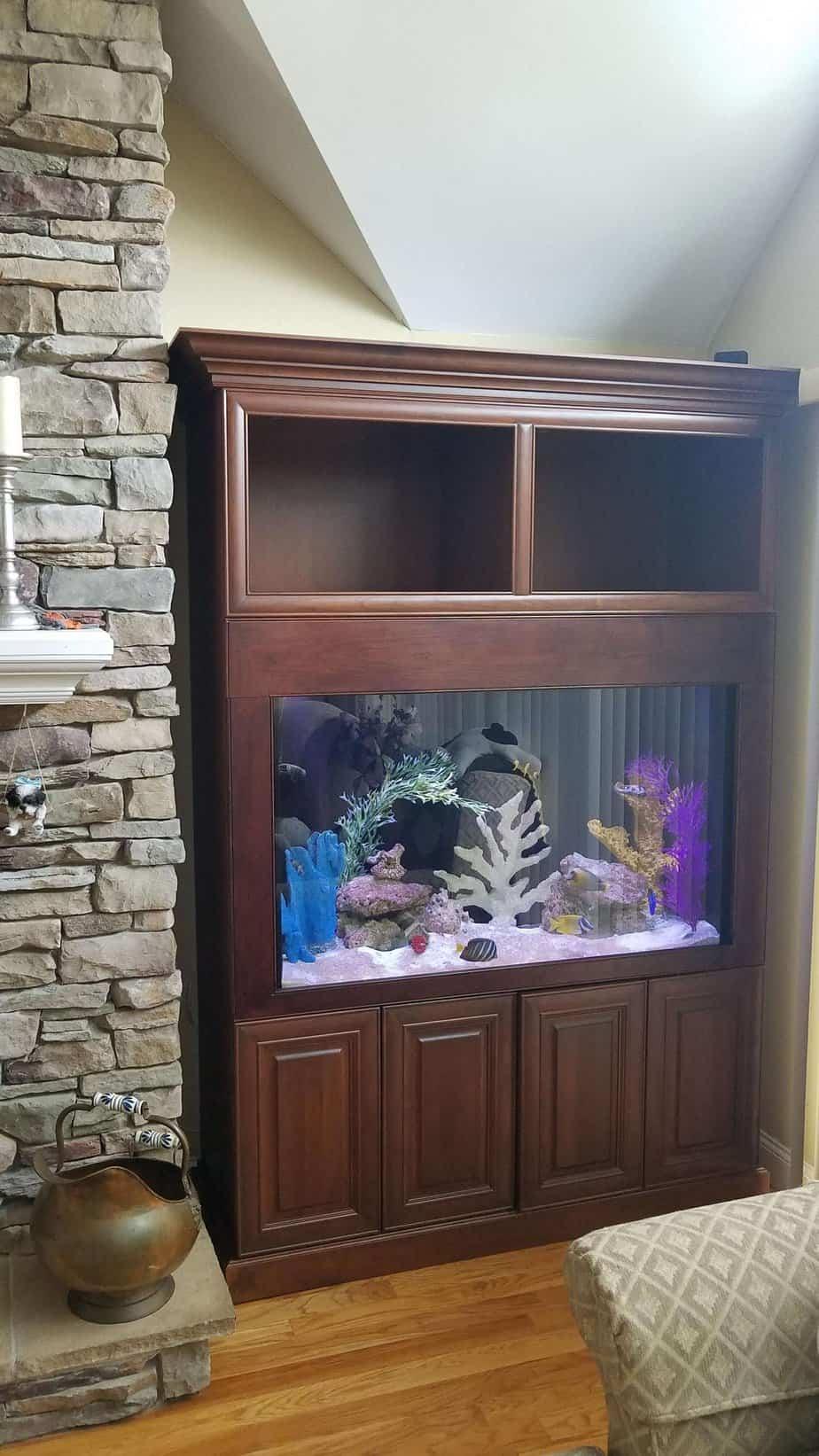 110 Gallon Aquarium